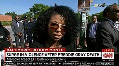 "Baltimore Residents: ""We Don't Think the Police Are Actively Doing Their Jobs"" REALLY?!? After your corrupt mayor completely immobilized & threatened them? I'm shocked! IDIOTS!!!! - Breitbart - 5/27/15"