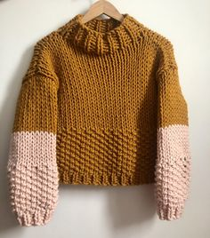 The annie jumper Knitting pattern by the knit mix