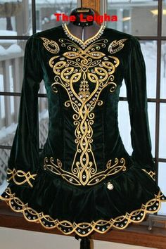 IDentify You Irish Dance Solo Dress Costume- this is similar to my solo dress