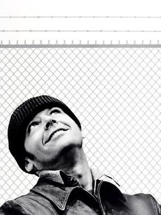 Jack Nicholson in 'One Flew Over The Cuckoos Nest', 1975.