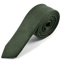Grønt Cashmere Uld Slips - 395,00kr