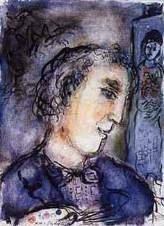 Marc Chagall - Self-portrait