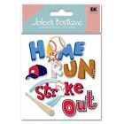 Jolee's Boutique Themed Ornate Stickers, Homerun Word on eBay for $4.85