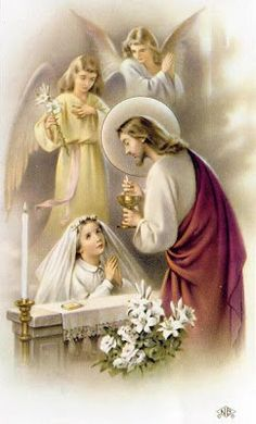 This blog post contains a link to a copy of our church's beautiful First Communion novena.