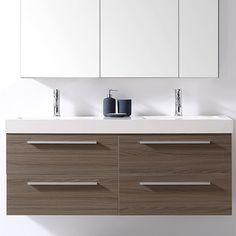 "Finley 54"" Double Bathroom Vanity Set"