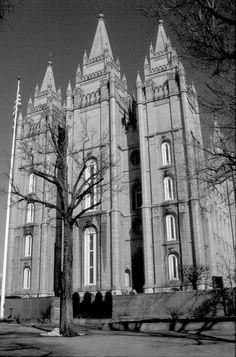 Latter-day Saints Temple, Salt Lake City....