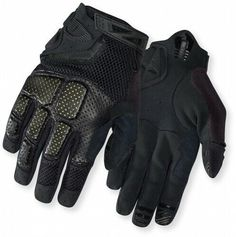 2XL Nwt Giro DND Adult Full Finger Cycling Gloves Size Small and XXL Touch New
