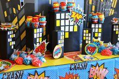 Super Hero Birthday Party Decor