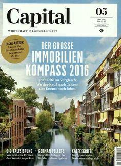 Der grosse Immobilien Kompass 2016. Gefunden in: Capital, Nr. 5/2016