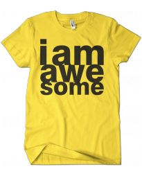 I Am Awesome Graphic Tee
