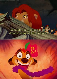 The lion King 1 when Simba come home fight for his land and had the timon and pumba dance Disney And Dreamworks, Disney Pixar, Walt Disney, The Lion King, Disney Lion King, King 3, Disney Memes, Disney Quotes, Funny Disney
