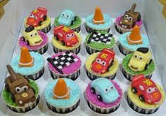 cars Monster Truck Cupcakes, Monster Trucks, Boy Birthday, Birthday Parties, Birthday Ideas, Grand Kids, Cake Ideas, Desserts, Party Ideas