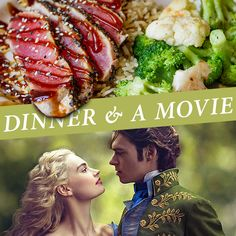 Plans tonight? How about dinner and a movie? #DateNight
