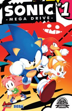 Time to go back to the classics. SONIC: MEGA DRIVE, by Archie Comics, is out…