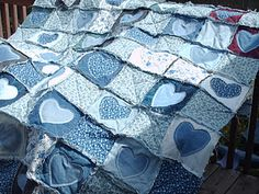 cutest blue jean quilt Ever! Thanks!---