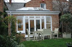 Hardwood kitchen extension Project by Heritage Conservatories.