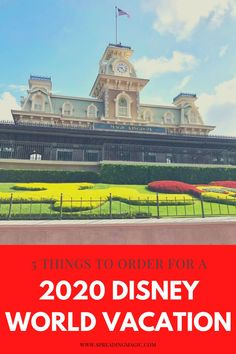 Things may look a little different at Disney World, but the magic is absolutely still there. Face coverings are now required, but there are also a few other things that we have found very helpful to order before your 2020 Disney World vacation. #Disney #DisneyWorld #VacationPlanning #DisneyVacation