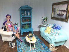 BARBIE,bookshelf,Adult miniatures,SCALE 1/6,DIORAMA,3 colors,armoire
