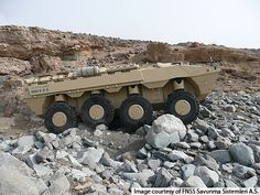 The vehicle is designed to operate in rough terrains and mountainous regions. - Image - Army Technology