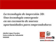 DIMA 3D - Impresion 3D para emprendedores