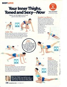 Health and Fitness: 12 Trainer Tracy Anderson Workout sheets back workout Commercial workout 20 Best Body Weight Workouts nataliejillfitnes. Sport Fitness, Body Fitness, Fitness Diet, Health Fitness, Workout Fitness, Butt Workout, Fitness Legs, Workout Diet, Fitness Motivation
