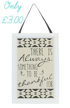 This adorable sign is only £3.00 from Primark