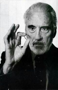 """RIP Saruman: """"May the wind under your wings bear you where the sun sails and the moon walks."""" JRR Tolkien (Christopher Lee May 1922 - June Gandalf, Legolas, Christoper Lee, Sun Sails, Jrr Tolkien, Dark Lord, Middle Earth, Lord Of The Rings, The Hobbit"""