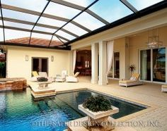 Brindisi - Spanish Colonial Plans - Home Plan Styles - Sater Design Collection Plans