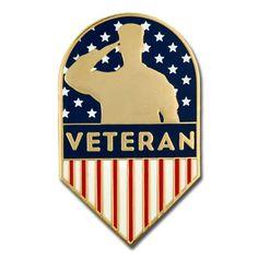 5d1351636ce Veteran Shield Pin. PinMart. Us VeteransAmerican ...