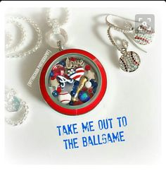 Create your living locket memory your little leaguer; alikatlockets.origamiowl.com