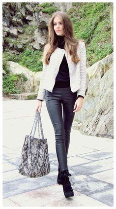 Clara Alonso Street Style Snapshots | Celebrities on Pinterest