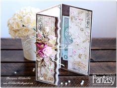 """FANTASY: Evenlope wedding card DIY / Как я это делаю: """"Свад..."""