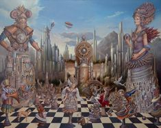 surrealismo magico pintura - Google Search