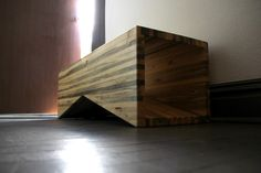 Colorado Beetle Kill Pine coffee table. $600.00, via Etsy.