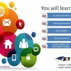 SEO Course Search Engine Optimization is a process of optimizing a website to rank higher in search engines like Google, Bing and Yahoo. Here At SIT H