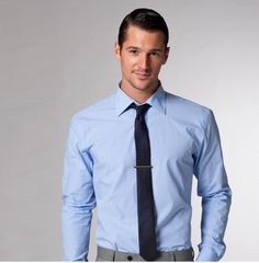 1000 images about men 39 s fashion on pinterest ties blue for Blue dress shirt grey pants