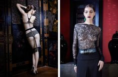 La Perla FW12 Oriental Suite Collection.