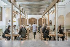 Osteria Oggi Adelaide, Simon Kardachi Restaurant Designed by studio-gram Coffee Shop Interior Design, Italian Interior Design, Coffee Shop Design, Restaurant Interior Design, Commercial Interior Design, Cafe Design, Design Design, Casual Restaurants, Unique Restaurants