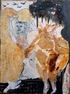 'Huidhonger' 5, Ine van den Heuvel, mixed media