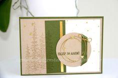 Christmas Card, carte de Noël, weihnachtskarte handmade with Stampin' Up!,Wonderland, Mossy Meadow, Waldmoos, Im Color, Cording Trim, Kordelschnur, Gold, Christmas, Weihnachten, Fröhliche Stunden, Happy Scenes , Berlin Stampin' Up!, SU https://stempelnstanzenstaunen.wordpress.com/