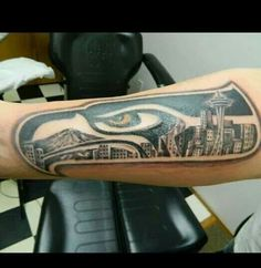 Seattle Seahawks Multi-Pack Temporary Tattoos
