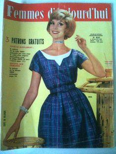 Femmes d'Aujourd'hui N°844 du 6/07/1961