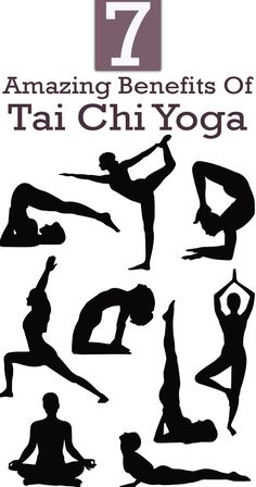 What is better for you – Tai Chi or Yoga? Well, we say, Tai Chi Yoga! Tai Chi Chu'an is a Chinese martial art form with amazing benefits. Tia Chi For Beginners, Yoga For Beginners, Yoga For You, My Yoga, Yoga Art, Yoga Vector, Vector Vector, Vector Stock, Vectors