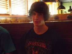 Daniel at the Outback