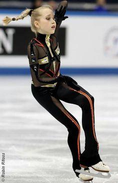 Elena Radionova Russian Nationals 2013, I love this program