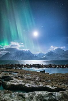 Aurora Borealis in Norway. Just another reason to live in Norway Beautiful Sky, Beautiful Landscapes, Beautiful World, Beautiful Places, Beautiful Pictures, Beautiful Norway, Amazing Photos, All Nature, Amazing Nature