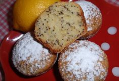 Citronovo-makové muffiny Sweet And Salty, Cooker, Sweet Tooth, Cheesecake, Food And Drink, Cupcakes, Sweets, Bread, Baking