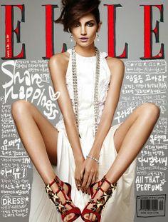 Lily Aldridge on Elle Korea December 2013