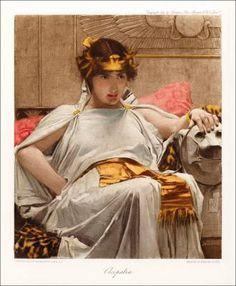 I personaggi femminili di Shakespeare in queste bellissime illustrazioni – Cleopatra (Antonio e Cleopatra)