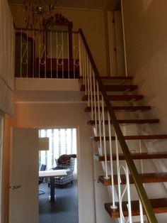 Oude trap voor renovatie